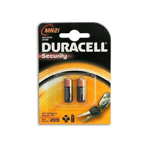 Baterijos Twin pack duracell alkaline LRV08 (12V) battery