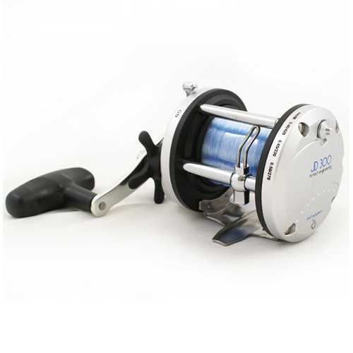 Ritė Lineaeffe multiplier reel JD300 with 50lb line