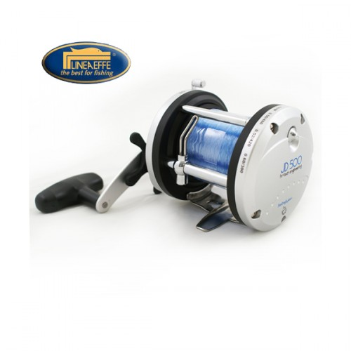 Ritė Lineaeffe multiplier reel JD500 with 50lb line