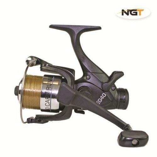 Ritė EG40-2BB Carp runner reel with 8lb line