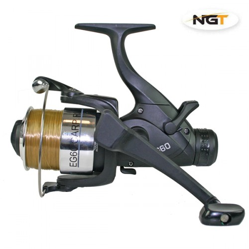 Ritė EG60 2BB Carp runner reel with 10lb line