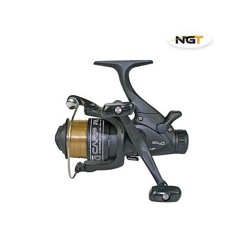 Ritė EX40 4BBtwin handle carp runner reel with 8lb line +S/SP