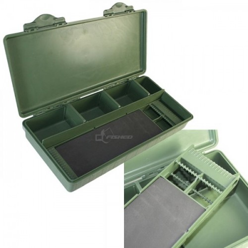 Aksesuarų dėžutė Carp tackle box with rig board included