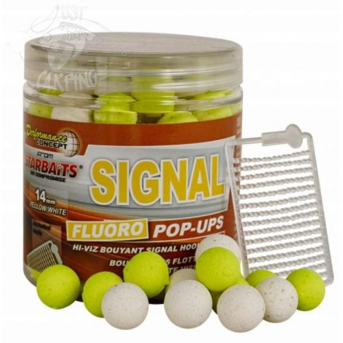 Boiliai Starbaits Signal Pop Up Fluo