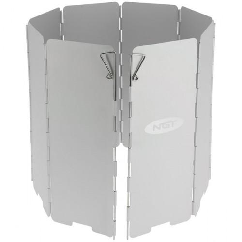 8 panelių aliuminis skydas nuo vėjo NGT
