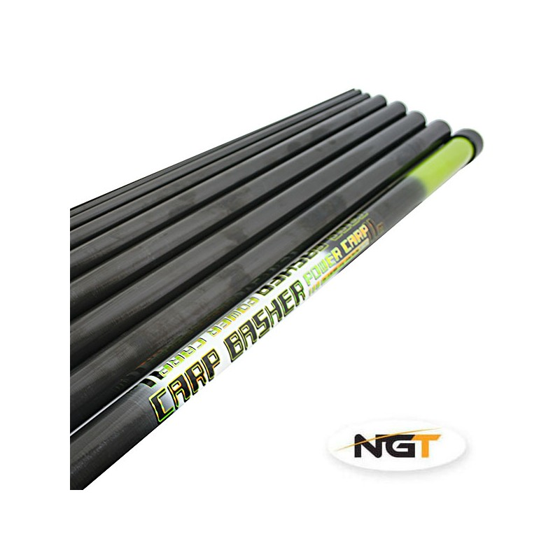 Meškerykotis Carp Basher - 11m Full Carbon Pole NGT