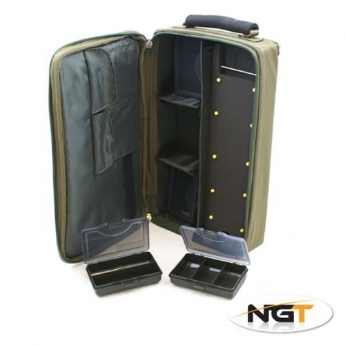 Dėklas pavadėliams Complete Carp Rig System NGT