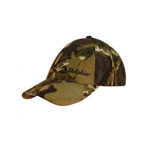 Kepurė su LED šviesa DELPHIN Cap with LED