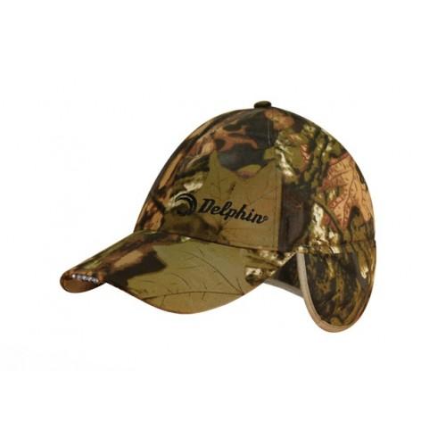 Kepurė su LED šviesa DELPHIN Winter cap with LED