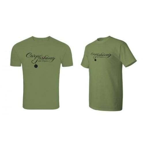 Marškinėliai Delphin T-shirt CARP fishing