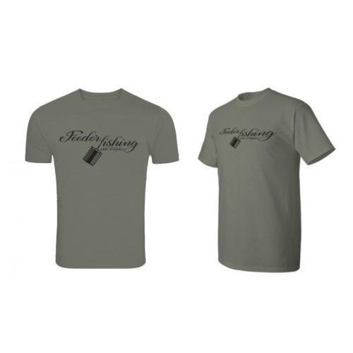 Marškinėliai Delphin T-shirt FEEDER fishing
