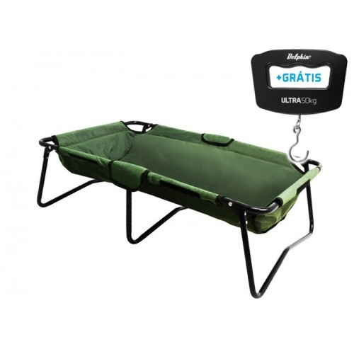 Žvejybinis matas+svarstyklės Delphin Set C-PROTEKT + weight ULTRA