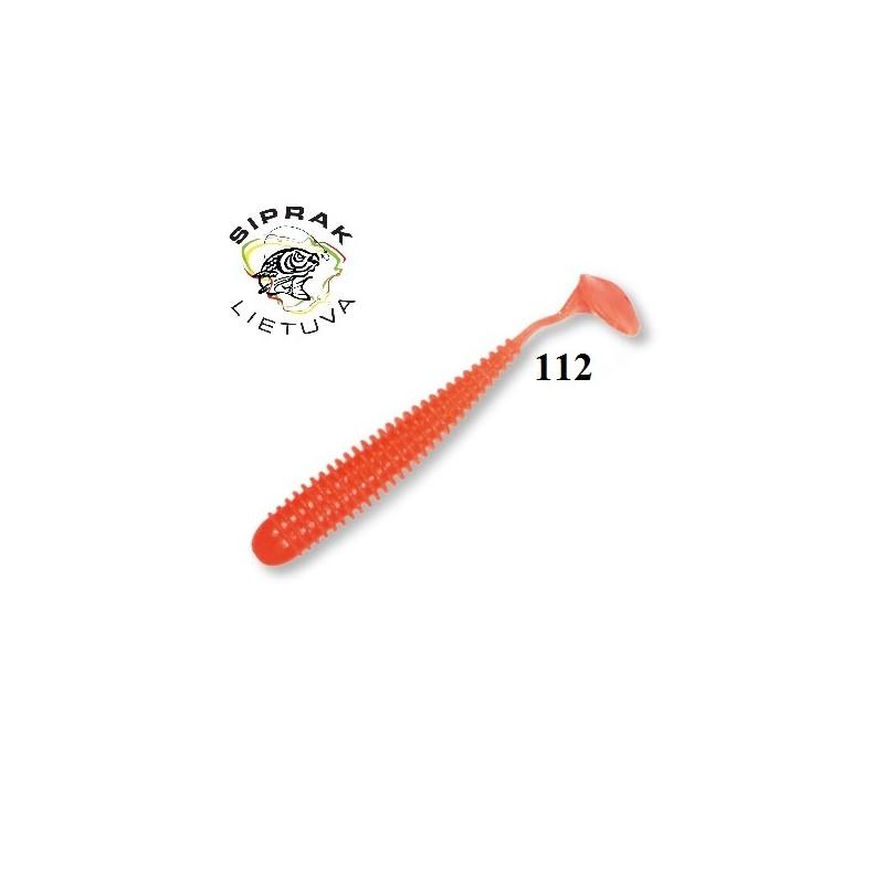 Guminukai Akara Eatable soft Bait Grip Leech 60/ 6vnt