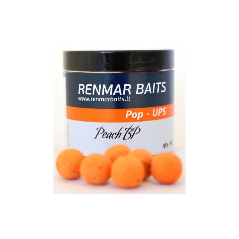 Peach BP (persikų skonio) pop - ups Renmar 16mm