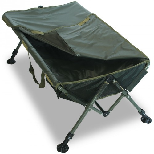 Matas karpiams Deluxe easy folding carp cradle with knee pad
