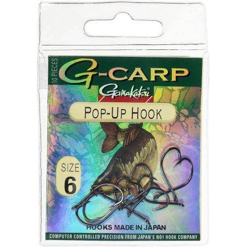 Kabliukai Gamakatsu G-Carp POP-UP HOOK