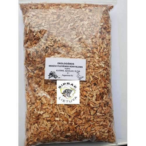 Ekologiškos Medžio pjuvenos rūkykloms