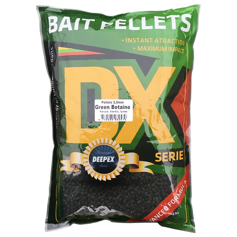 Green betaine peletės 4mm Deepex