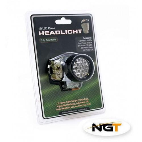 Prožektorius NGT 19 LED Camo Headlight