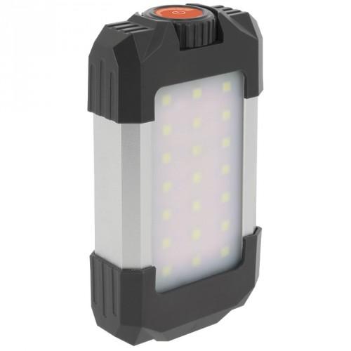 Pakraunama LED lempa su Power bank sistema NGT
