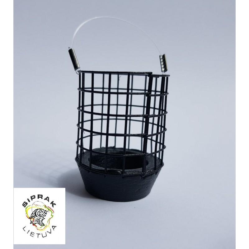Šėryklėlė tolimo metimo (juoda) L