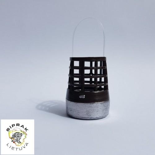 Šėryklėlė tolimo metimo (ruda, plastmasinė) S