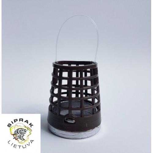 Šėryklėlė tolimo metimo (ruda, plastmasinė) XL