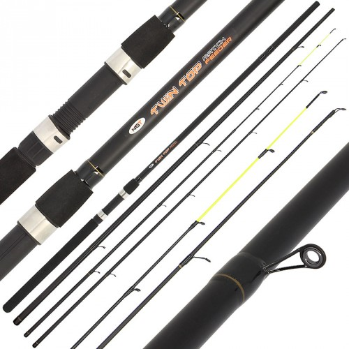 Kotas Twin Top Feeder & Match Rod NGT