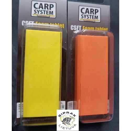 Plūduriuojanti puta CSFT foam tablet Carp System