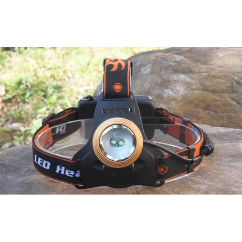 Prožektorius su UV Dual light source zoom headlamp