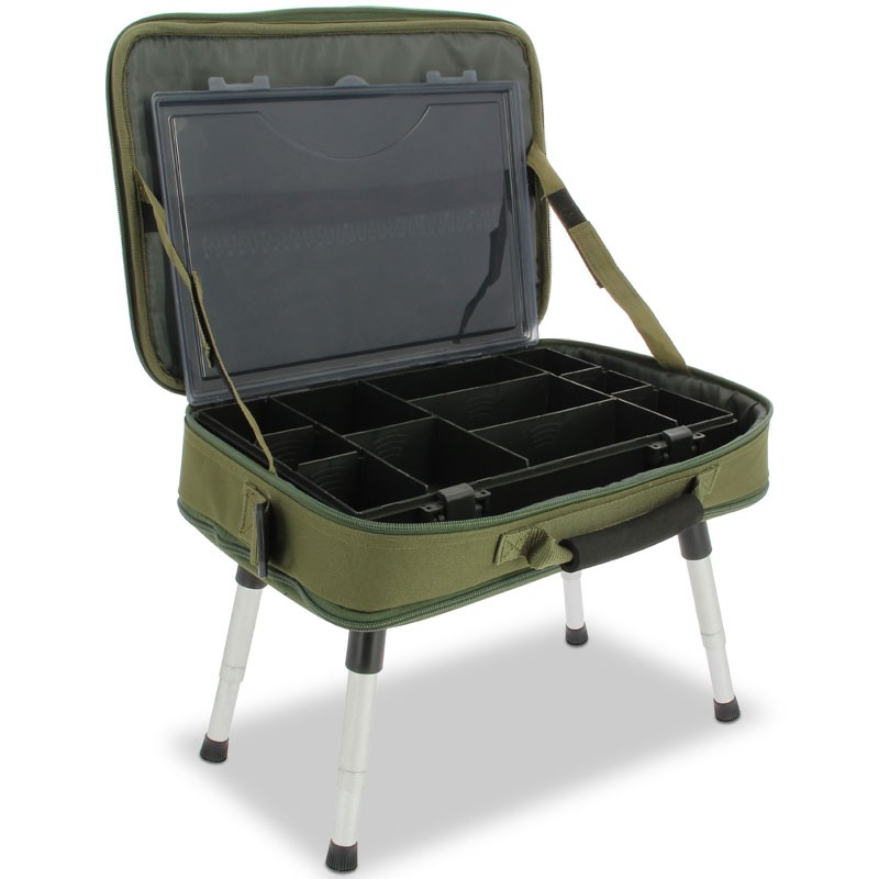 Daugiafunkcinis krepšys NGT Deluxe Anglers Box Case System