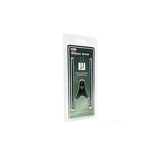 Juodo aliuminio meškerės laikiklis Snag Bar Mini NGT