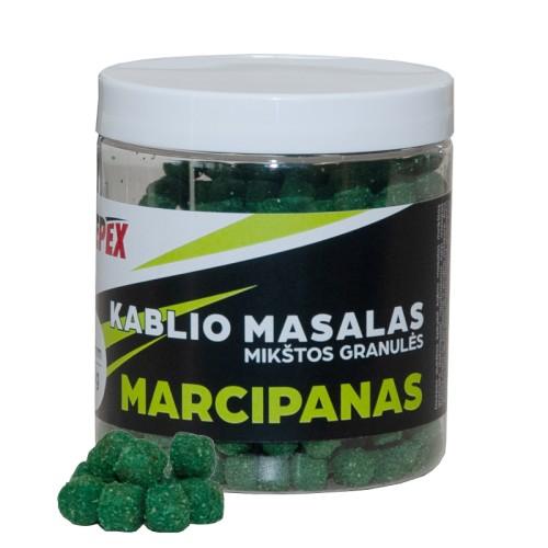 Minkštos granulės Marcipanas 6mm Deepex