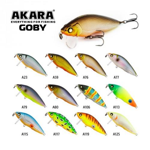 Vobleris Akara Goby 65F