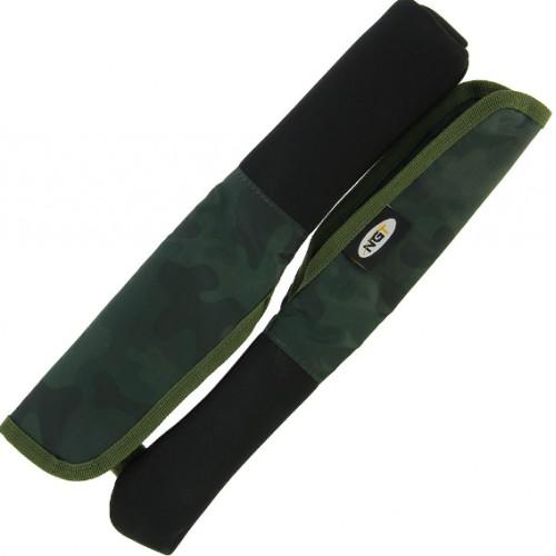 Meškerės viršūnės ir rankenos apsaugos NGT Woodbury Dapple Camo Tip & Butts