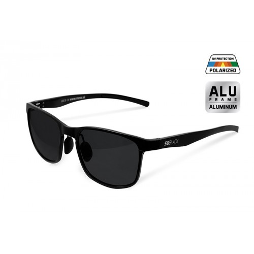 Akiniai Polarized sunglasses Delphin SG BLACK black lenses