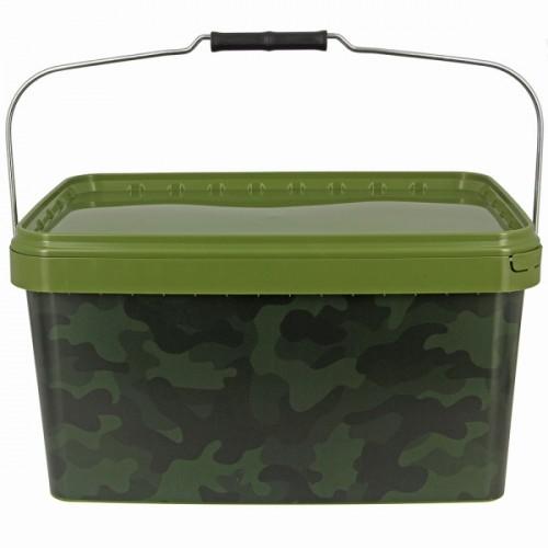 Kibiras NGT Square Camo Bucket 12,5L