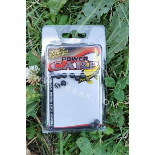 Amortižuojančios apvalios gumelės Power Carp