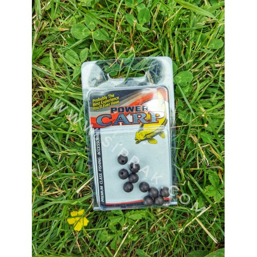 Amortizuojančios apvalios gumelės Power Carp