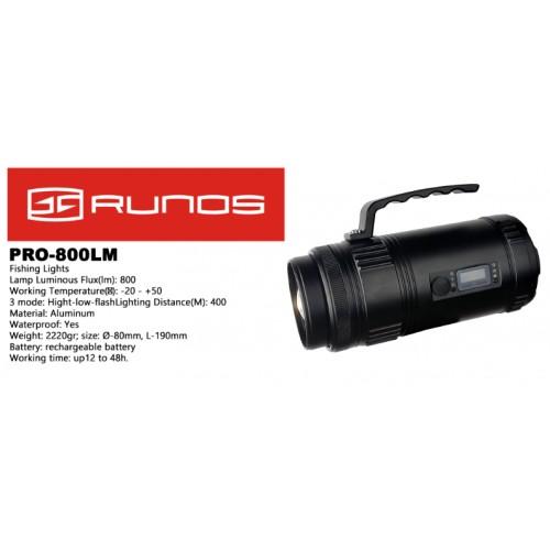 Prožektorius su stovu RUNOS 800 LM